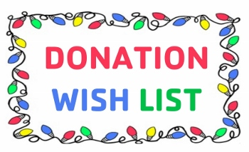 Donations needed to support local charities…spread the word!