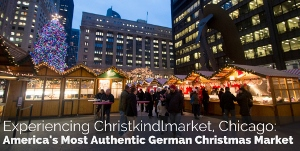 Trip to Christkindlemarket, Chicago