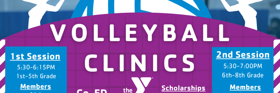 VOLLEYBALL CLINICS | APRIL 27th – JUNE 3rd