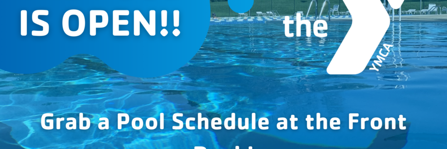 Pool Opening and Schedule!